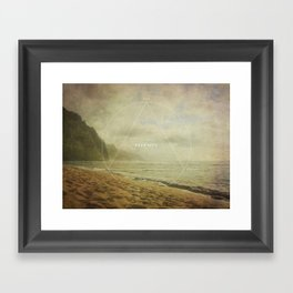 Past Present Future Framed Art Print