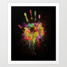 Artist Hand (1) Art Print