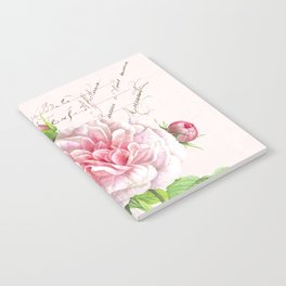 Paris Rose Notebook
