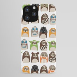 Science Fiction Sloths iPhone Case
