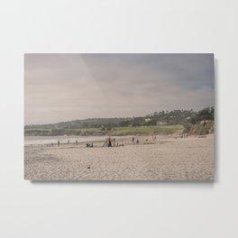 Carmel-by-the-sea beach Metal Print