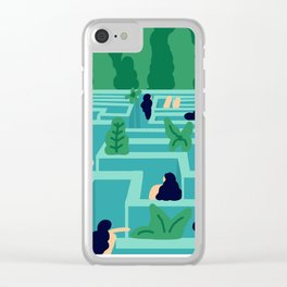No Exit Clear iPhone Case