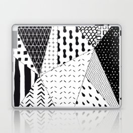 Abstract Outline Pattern 1 Laptop & iPad Skin