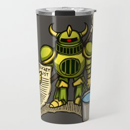 Bucket Knight Travel Mug