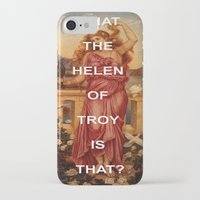 helen iPhone & iPod Cases featuring Triple Helen by Beastie Boys Art History