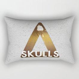 Bastille #1 Skulls Rectangular Pillow
