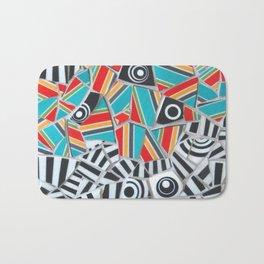 One, Two, Many Stripes Bath Mat
