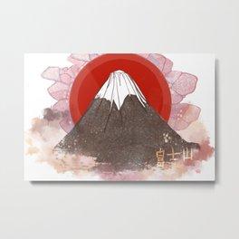 Mount Fujiyama Metal Print