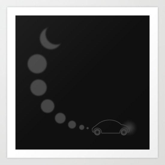 Riders of the Night Art Print