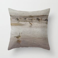 Scavenging Throw Pillow