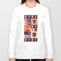 the legend of zelda Long Sleeve T-shirts featuring Legend of Zelda Items by Ann Van Haeken