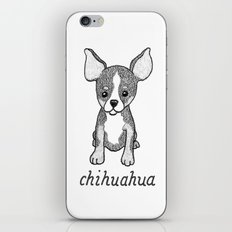 Dog Breeds: Chihuahua iPhone & iPod Skin