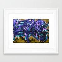 graffiti Framed Art Prints featuring Graffiti by Fine2art