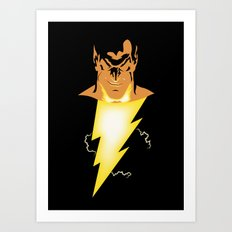 Black Adam Art Print