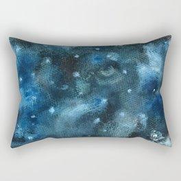 Watercolor: Intergalactic Owl Rectangular Pillow