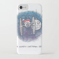novelty iPhone & iPod Cases featuring A Novelty Christmas TIE by CameronKimJones