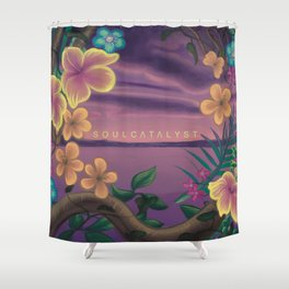 Soul Catalyst Paradise (Artwork by Ramiro Hernandez) Shower Curtain