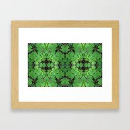 Luck (pattern) Framed Art Print