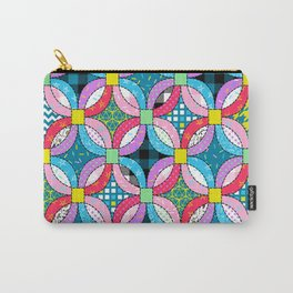 wedding ring quilt Carry-All Pouch