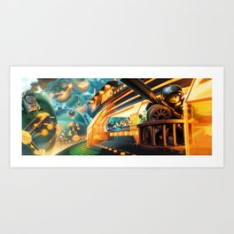 Boulevard of Bricken Dreams Art Print