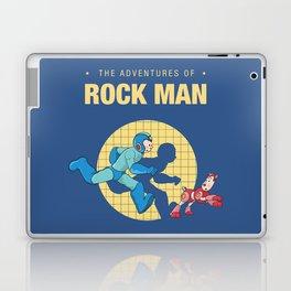 THE ADVENTURE OF ROCKMAN Laptop & iPad Skin