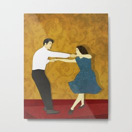 Swing Dance Metal Print