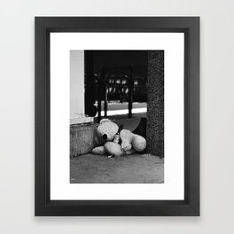 Rough Night Framed Art Print