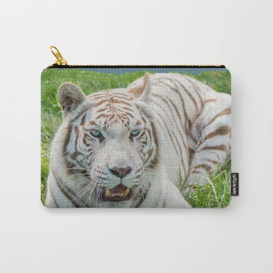 THE BEAUTY OF WHITE TIGERS Carry-All Pouch