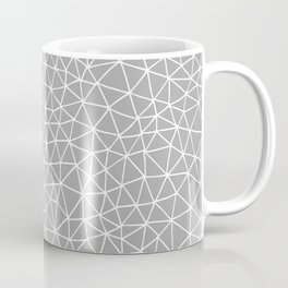 Connectivity - White on Grey Coffee Mug
