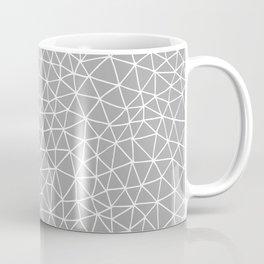 Connectivity - White on Grey Coffee Mug