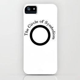 The Circle of Symbolism iPhone Case
