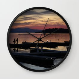 Champlain Dusk Wall Clock