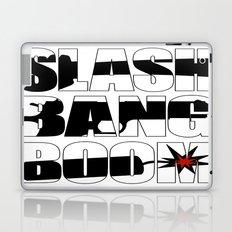 SLASH BANG BOOM! Laptop & iPad Skin