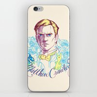 downton abbey iPhone & iPod Skins featuring RIP Matthew Crawley, of Downton Abbey.  by Erin Gallagher Illustration and Design