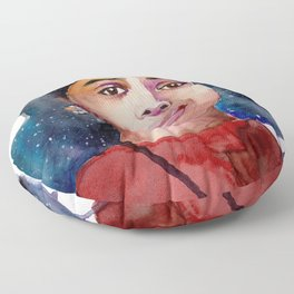 Dorothy Vaughn Floor Pillow