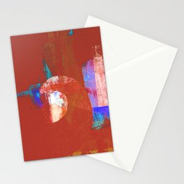 Tournament (knight terracotta) Stationery Cards