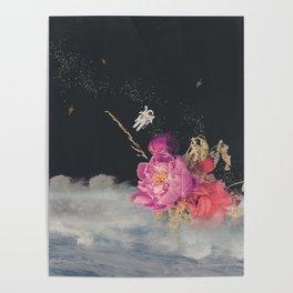 Space Florist Poster