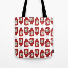 Ketchup Pop Art Tote Bag