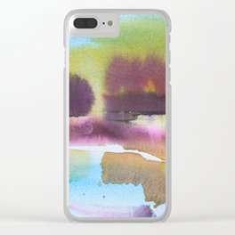 A Splash of Autumn Clear iPhone Case