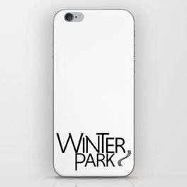 Winter Park - Type - 57 Montgomery Ave iPhone Skin