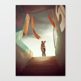 The Outskirts Canvas Print