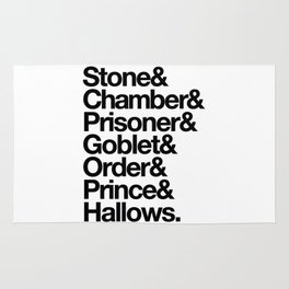 Stone & Chamber & Prisoner & Goblet & Order & Prince & Hallows Rug