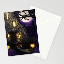 Spider Halloween Stationery Cards