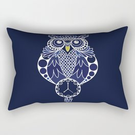 Timewise Owl Rectangular Pillow