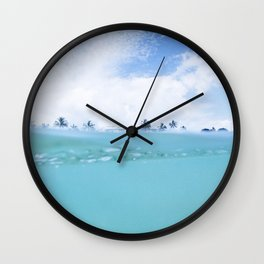 Endless Summer Wall Clock