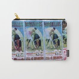 Bullfight Poster Spain Carry-All Pouch