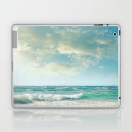 beach love tropical island paradise Laptop & iPad Skin