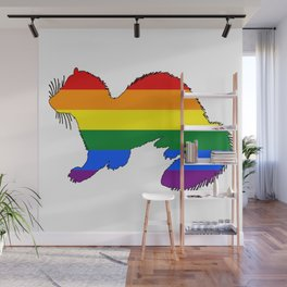 Rainbow Ferret Wall Mural