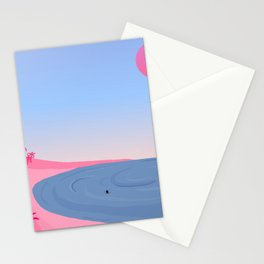 Never Alone // On Your Own Stationery Cards