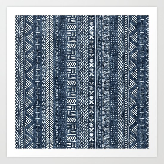 Mud Cloth Stripe by beckybailey1